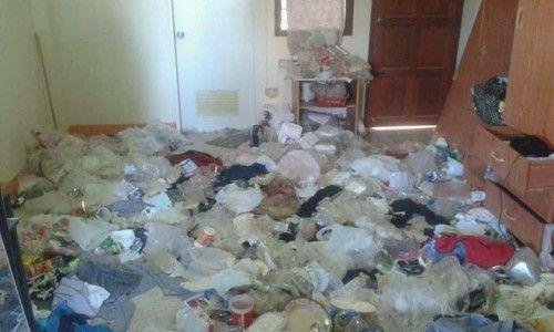 Nữ sinh viên thuê nhà chuyển đi, chủ phòng trọ khóc thét khi thấy khung cảnh tan hoang như bãi rác