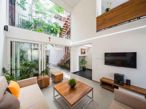 Những phương pháp phối màu cho không gian nhà nhỏ