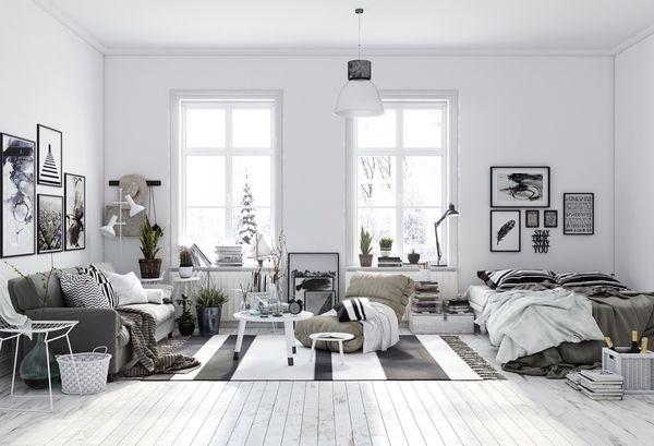 Tinh tế với nội thất phong cách Scandinavian cho mùa Giáng Sinh