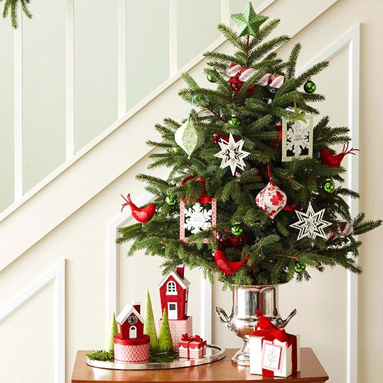 Ý tưởng trang trí Giáng sinh cho căn hộ nhỏ